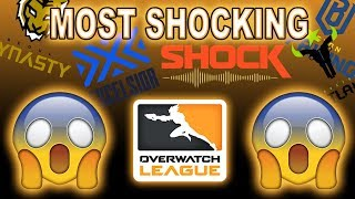 The Top 5 Most SHOCKING Overwatch League Things!