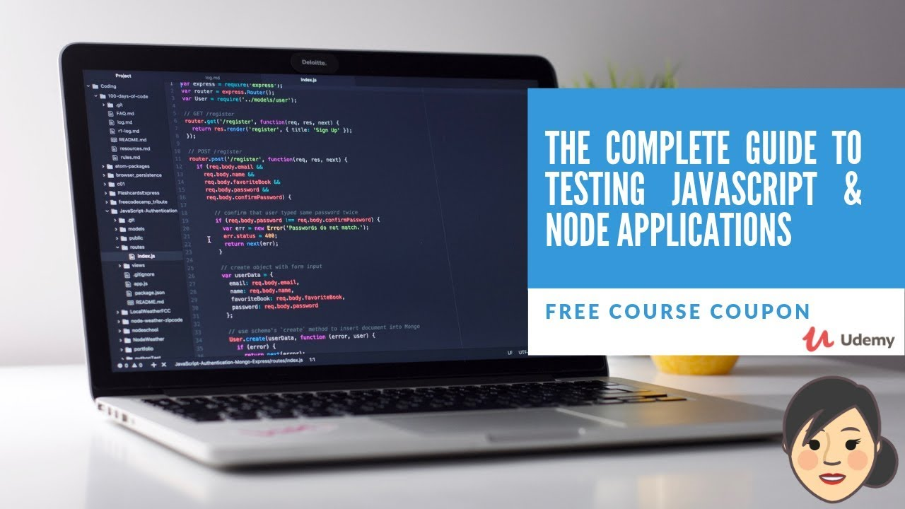 Udemy The complete guide to testing javascript & node applications  Free  Course Coupon  Limited Time