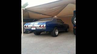 Chevelle SS Burnout, Dyno test, Street racing and Some pic's in UAE