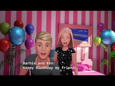 Barbie : Happy Birthday To You Wish