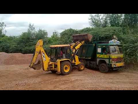 Truck Loading at our Mine's Stock Yard