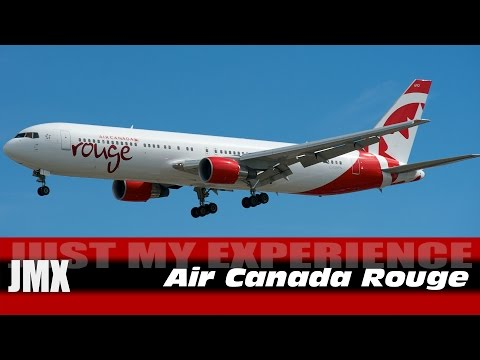 Just My Experience - Air Canada Rouge Review