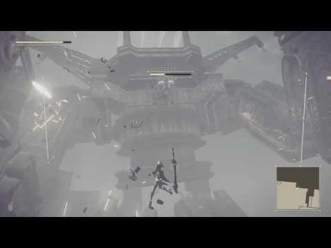 尼爾:自動人形 NieR:Automata 廢墟都市 巨大機械生物 恩格斯