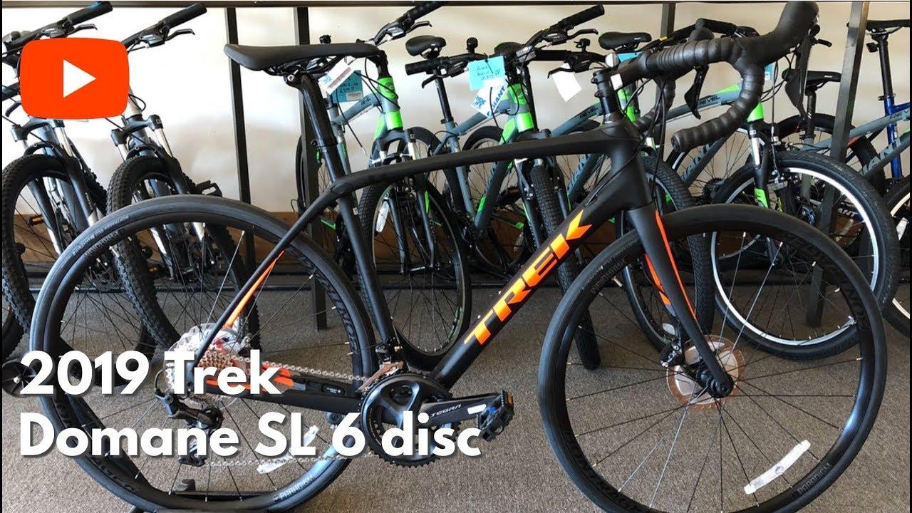 FIRST LOOK! 2019 Trek Domane SL 6 disc