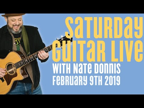 Marty Music Live Stream w Guest Nate Donnis