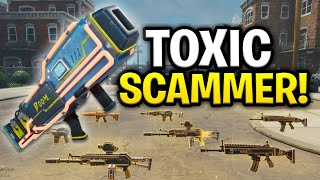 Weird Toxic Scammer Scams Himself! (Scammer Get Scammed) Fortnite Save The World