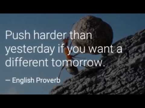 Best Inspirational Thoughts English Proverbs YouTube Interesting Inspirational Proverbs
