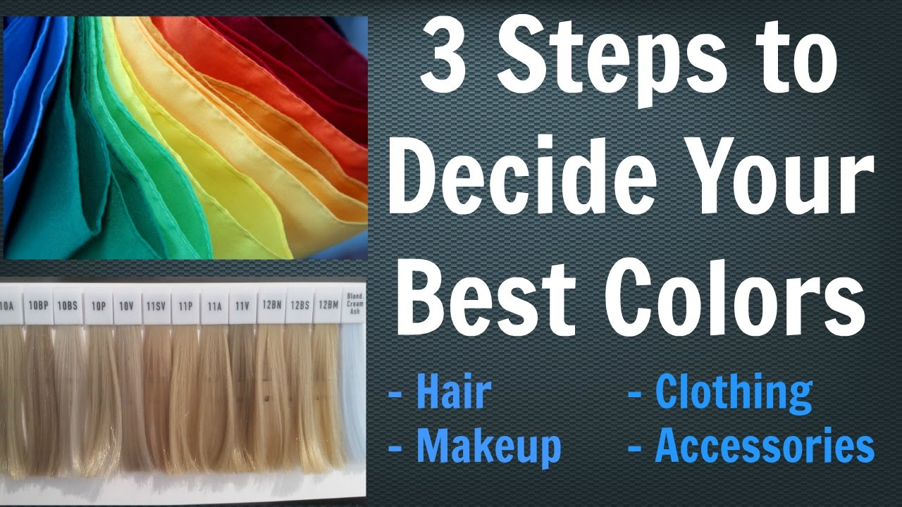 3 Steps to Choose YOUR Best Hair Color for Your Skin Tone, Makeup ...