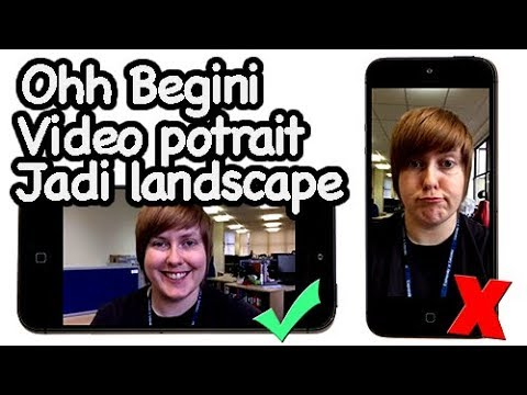 Cara Merotasi Video Potrait Jadi Landscape Di Iphone Dengan Mudah Youtube