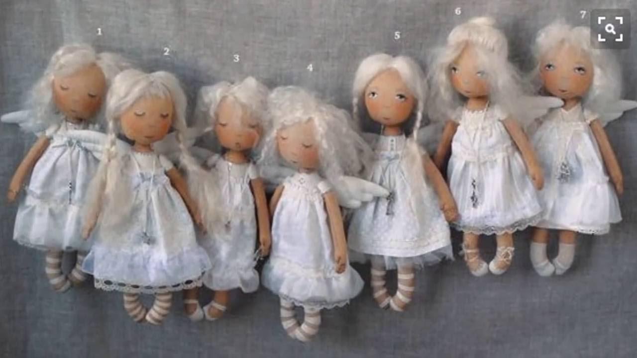 Сшить куклу ангела своими руками