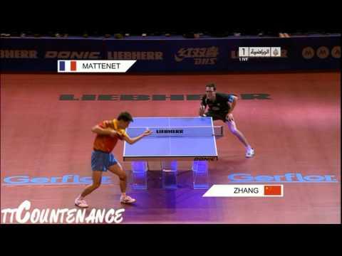 World Cup: Zhang Jike-Adrien Mattenet