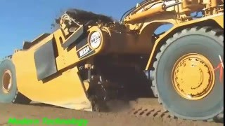 Construction Machines - MEGA MES34 Elevating Scraper - Modern Technology