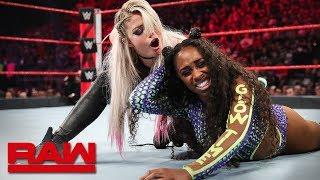Naomi vs. Alexa Bliss: Raw, April 29, 2019