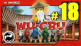 LEGO Ninjago WU-CRU Прохождение Игры Лего Ниндзяго на русском - 18 серия - ГРОБНИЦА ФЭНГПАЙЕ