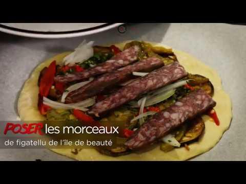 recette-focaccia-figatellu-de-l'Île-de-beauté-et-légumes-par-cucina-corsa