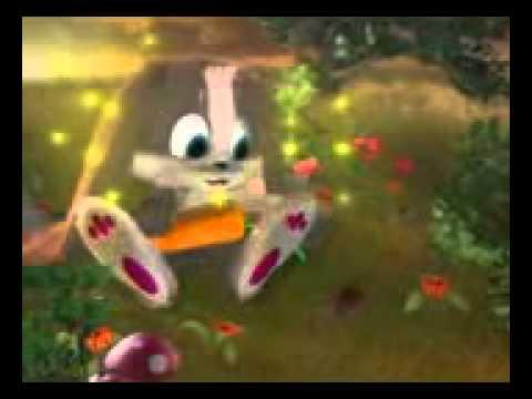 Как зайчик любит морковку:-)