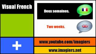 [Visual French lesson] How long are you staying