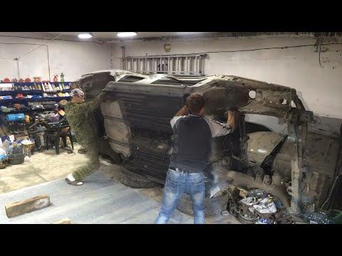 Обработка пола Toyota Carina E. Грунтовка, герметик, покраска. историяодноймашины ч 5