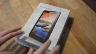 Lenovo Tab A8 Unboxing