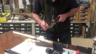 Beretta shotgun cleaning video