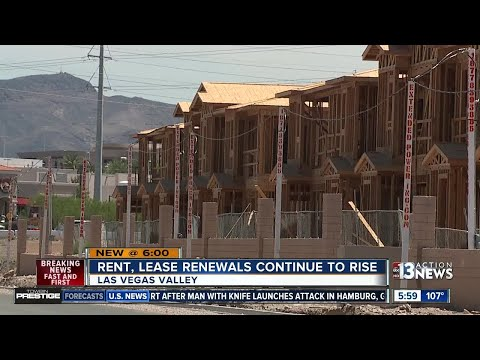 Rent, lease renewals becoming more expensive across the Las Vegas Valley