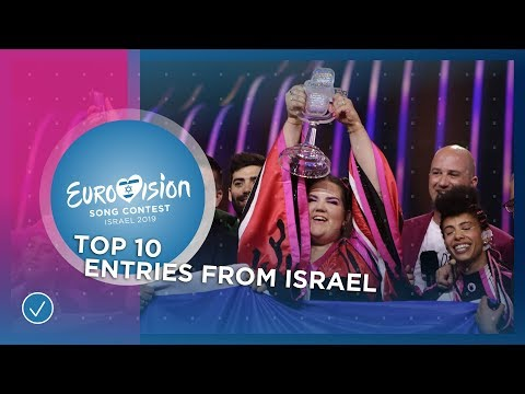 TOP 10: Entries from Israel - Eurovision Song Contest