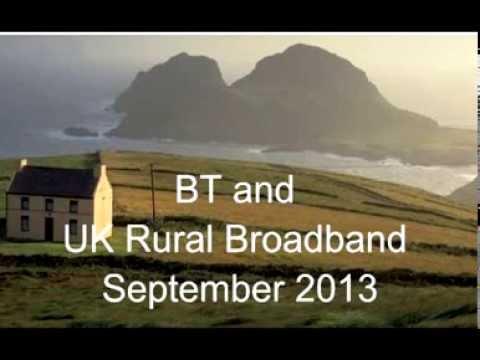 Radio 4 on BT's Rural Broadband Monopoly