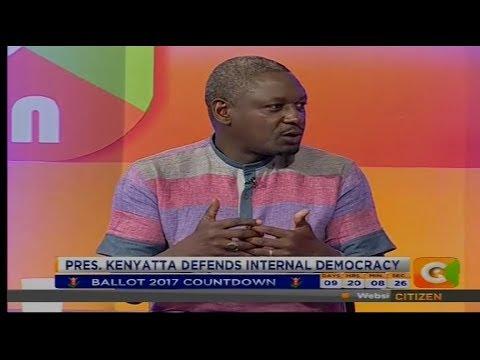 Citizen Extra : President Kenyatta Defends Internal Democracy