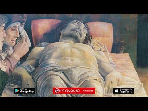 Brera – Cristo Muerto – A  Mantegna – Milán – Audioguía – MyWoWo Travel App