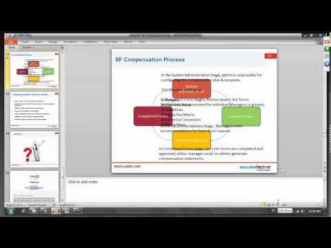 Live Webinar SuccessFactors Compensation