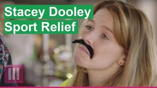 Stacey Dooley does Sport Relief