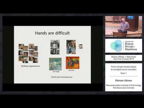 Lecture 4.1: Shimon Ullman - Development of Visual Concepts