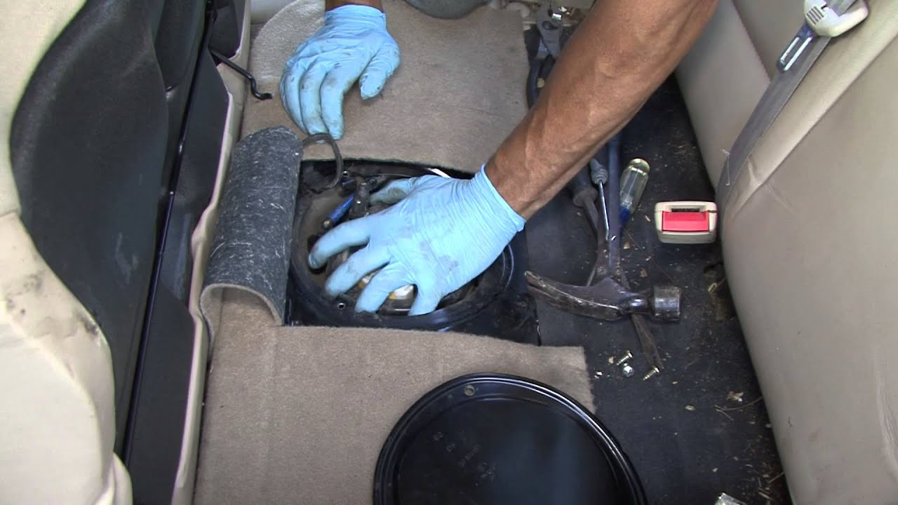 how to change your 98-05 jetta fuel pump