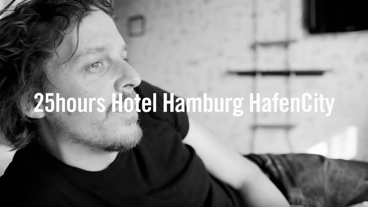 25hours hotel hamburg hafencity official youtube. Black Bedroom Furniture Sets. Home Design Ideas