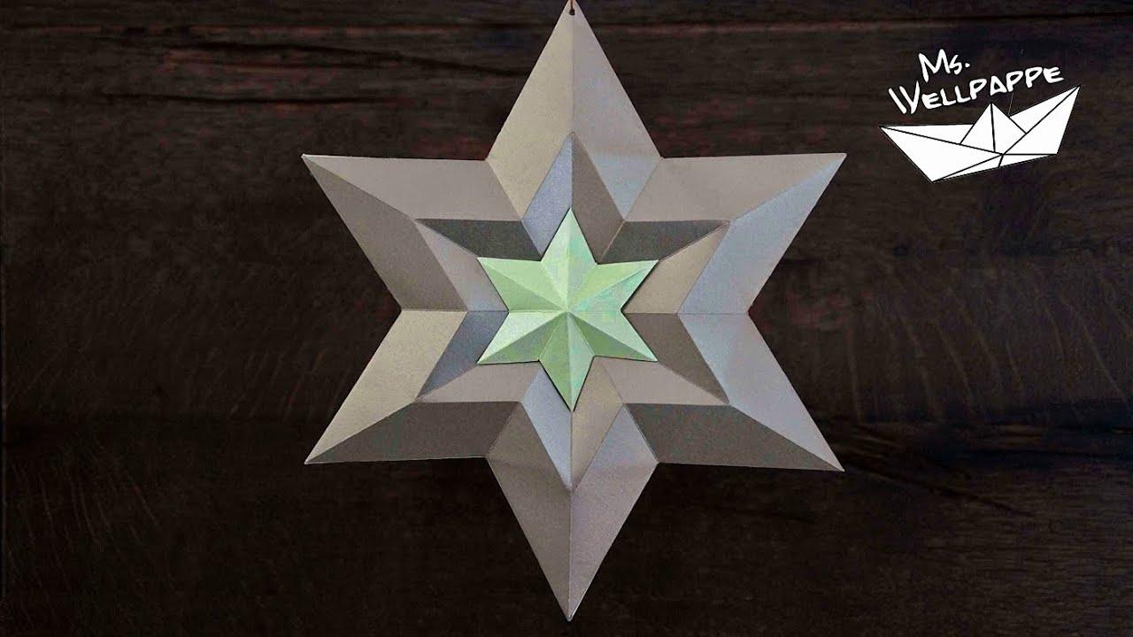 sterne basteln zu weihnachten weihnachtsdeko mit papier selber basteln viyoutube. Black Bedroom Furniture Sets. Home Design Ideas