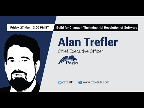 #104: Build for Change - The Industrial Revolution of Software: Alan Trefler, CEO, Pegasystems