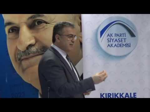 AK Parti Siyaset Akademesi Kırıkkale Osman Coşkun 03Aralık2016
