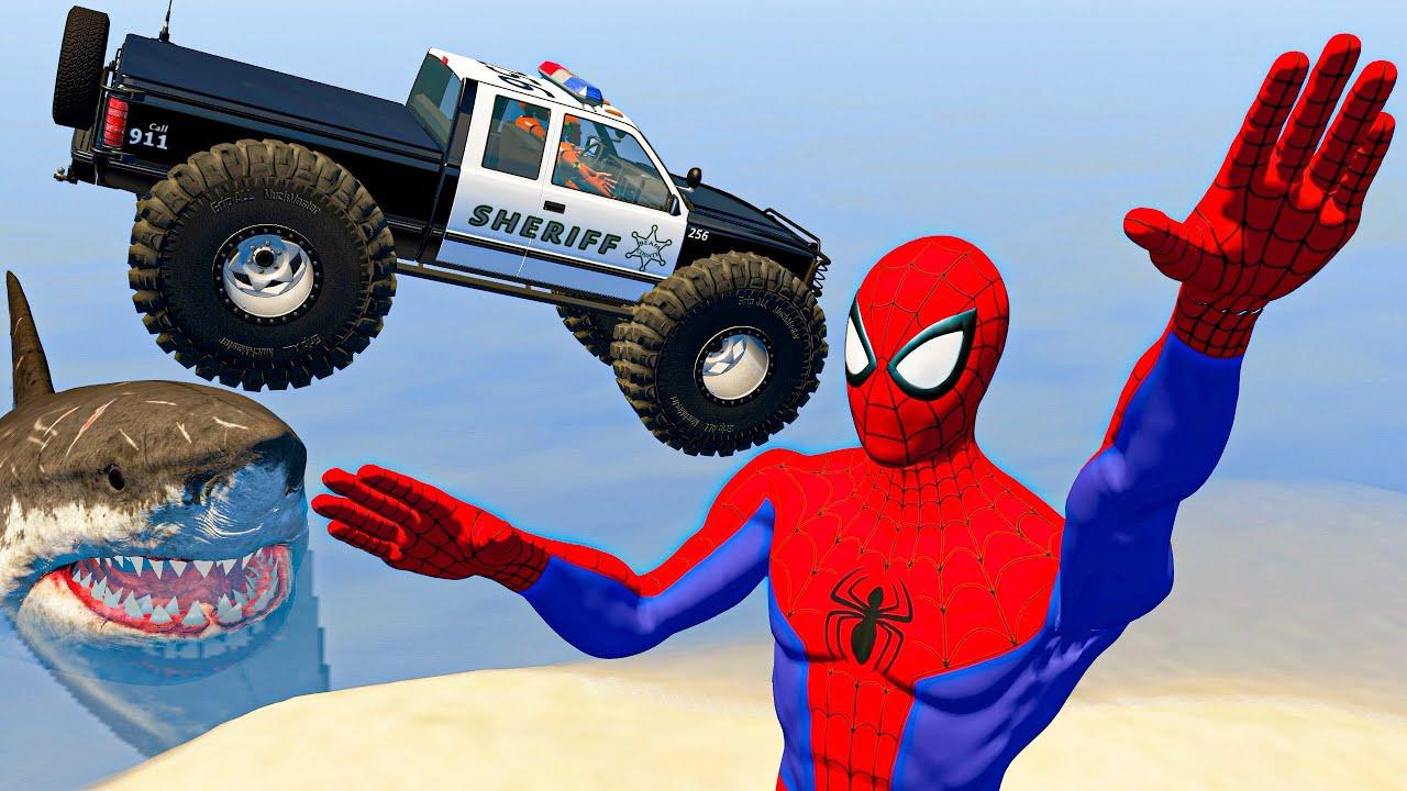 BeamNG Drive Game - MADNESS Cars Jumping And Crashing! | Satisfying Cars Crashes & Fails Compilation