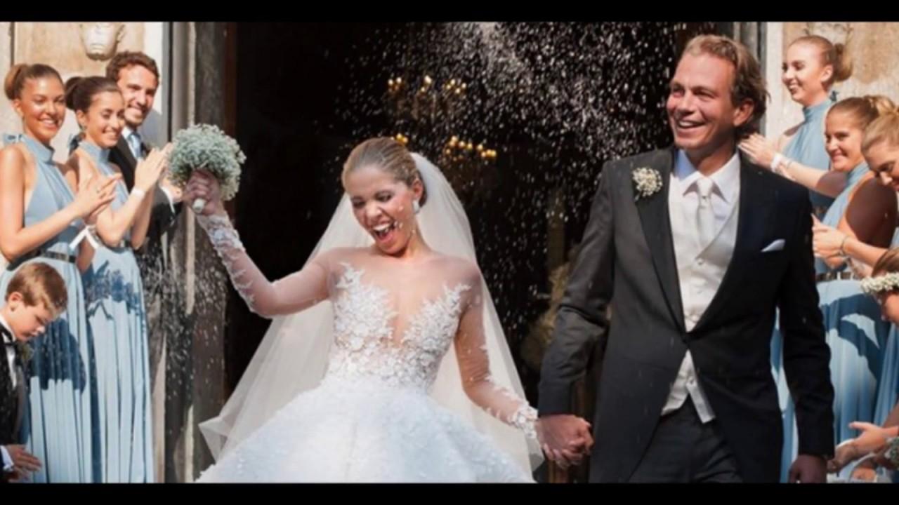 Video: Victoria Swarovsky Wedding Dress  Married With Boyfriend