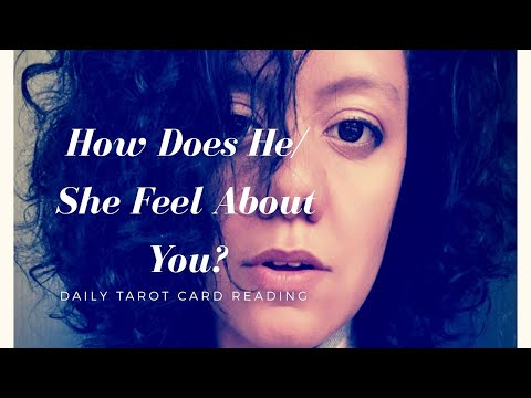 How Does He/She Feel About You ✨ DAILY Love Tarot 💖 Thursday September 13th 2018