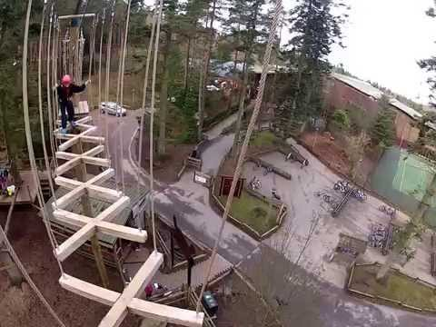 Treetop Aerial Adventure - Center Parcs - Whinfell