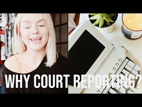 WHY YOU SHOULD CHOOSE COURT REPORTING.