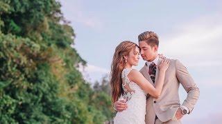 Valerie Bangs Garcia and Lloydi Birchmore BORACAY On Site Wedding Film by Nice Print Photography