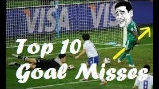 Top 10 Funny Worst Football Goal Misses