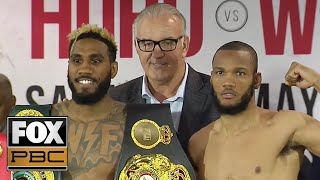 Jarrett Hurd vs Julian Williams | WEIGH-INS | PBC ON FOX