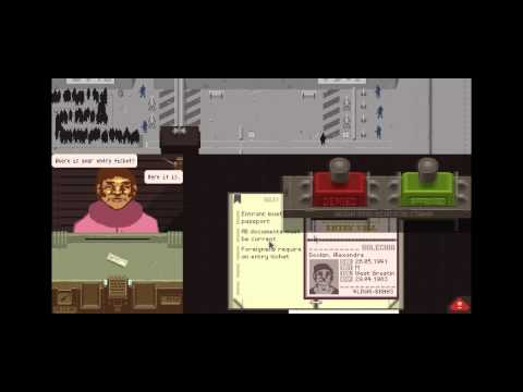 Let's Stamp Papers, Please - 1 - Checkpoint Charlie