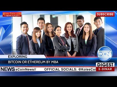 KCN: MBA exploring the blockchain technologies