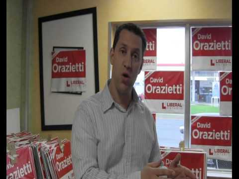 David Orazietti Tells it Like It Is