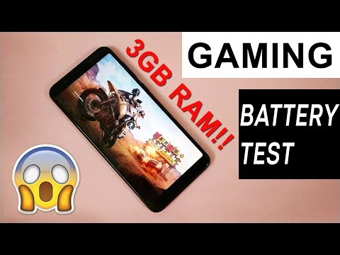 ASUS Zenfone Max Pro (3/32GB) GAMING REVIEW, Battery Test (PUBG, Asphalt 8) | HINDI
