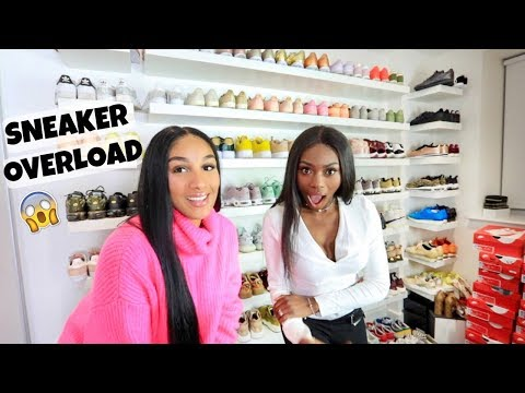 COME INTO MY SNEAKER CLOSET FEAT. PATRICIA BRIGHT | SHERLINA NYM